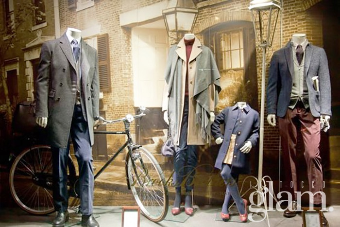 Brooks Brothers via Windows Wear-Pinterest