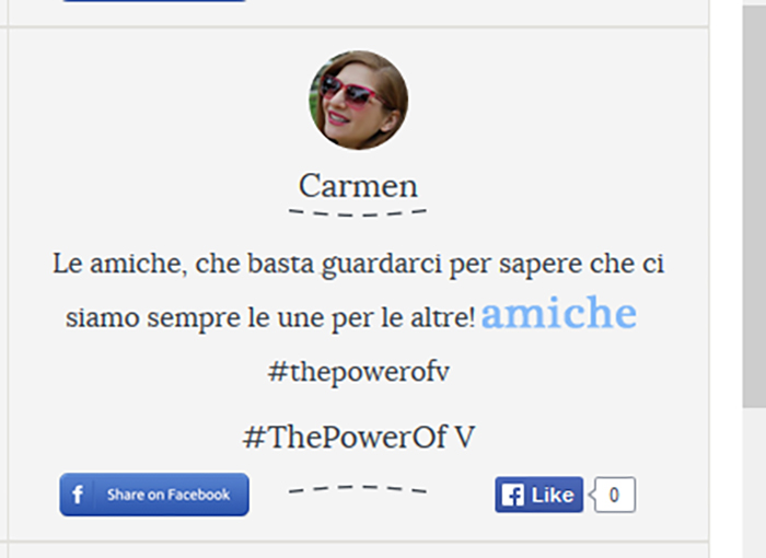 concorso power of v