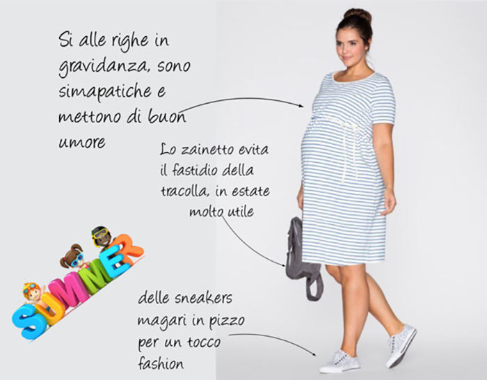 summer pregnant outfit