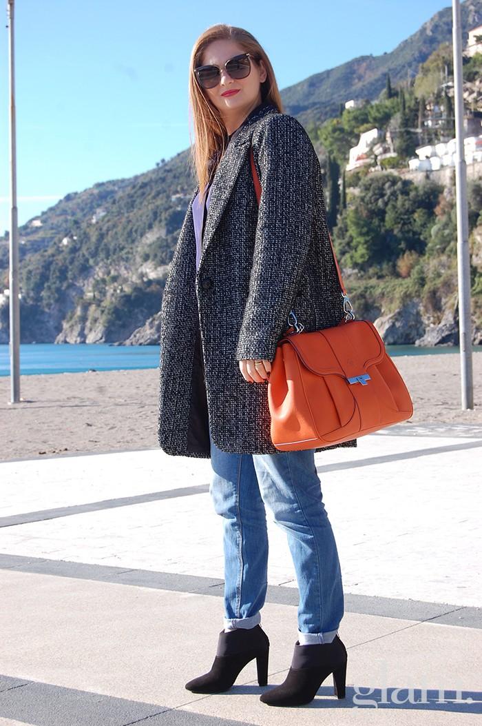 Camera bag Alef | Borsa arancio