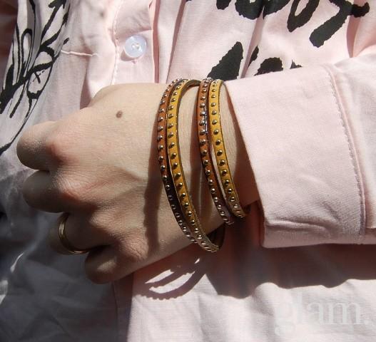 bracciale con borchie montecristo jewels