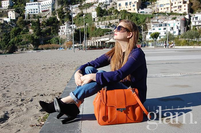 Il tocco glam per Aleph | Camera bag Alef