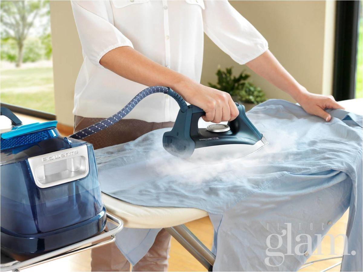 stiratura a vapore | stirare con vapore a pressione