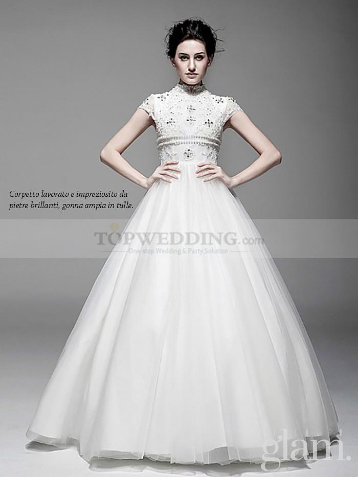 abito da sposa autunno con bustino pag 1