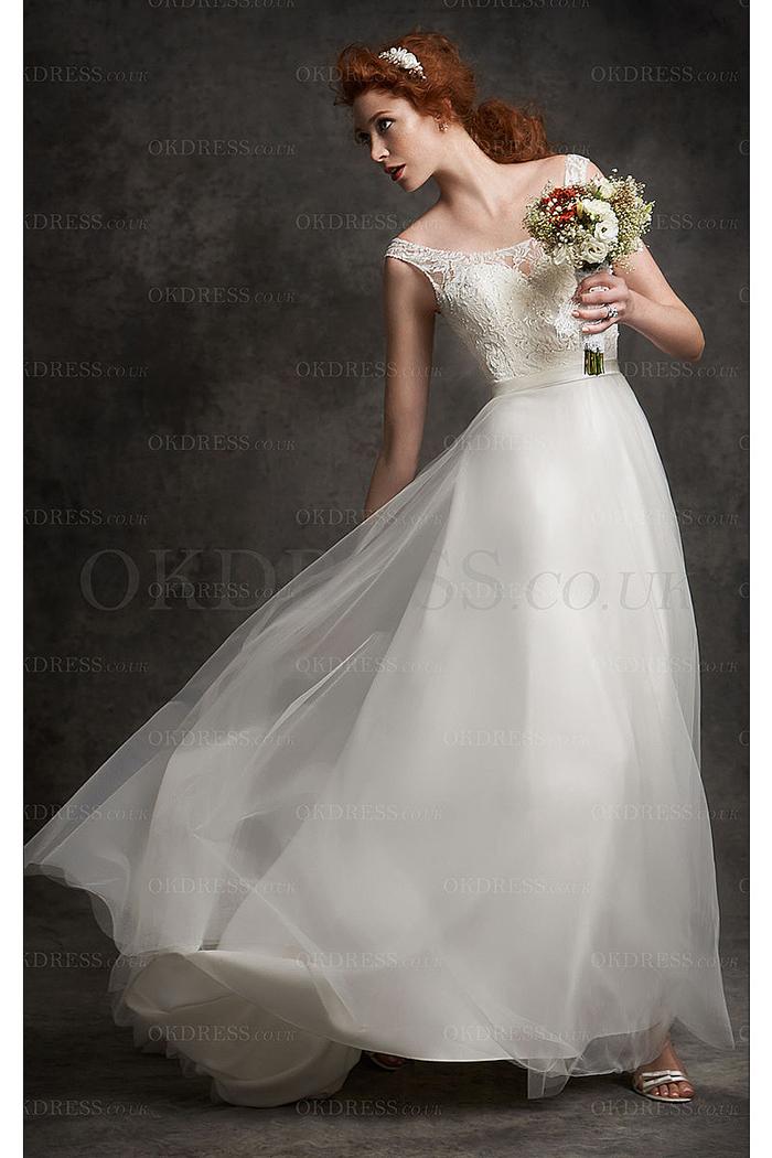 abito da sposa per capelli rossi