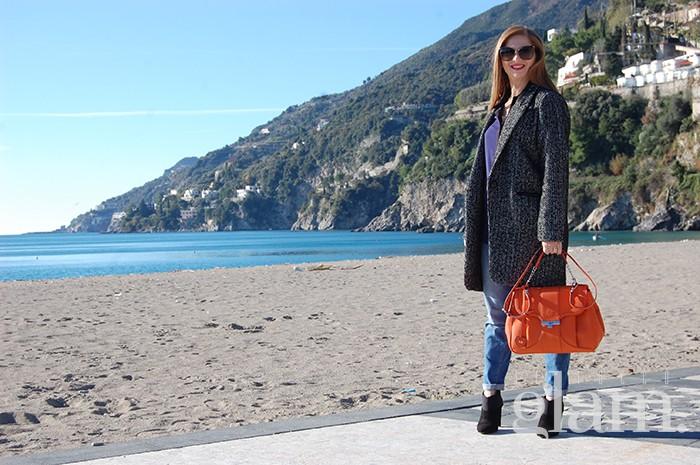 blogger bag arancio | borsa arancio