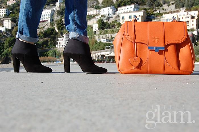 borsa Aleph | borsa arancio Alef