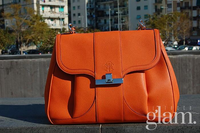 borsa alef arancio