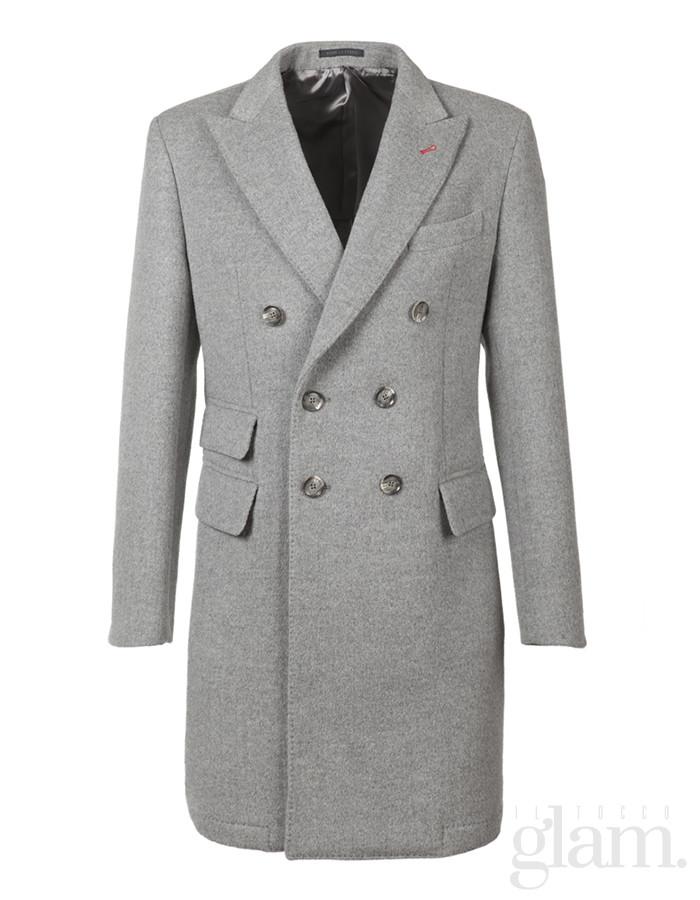 cappotto grigio lanieri