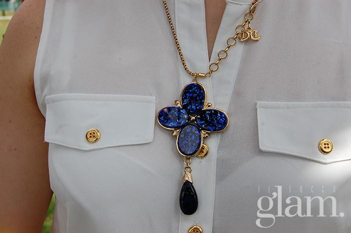 collana blu de liguoro