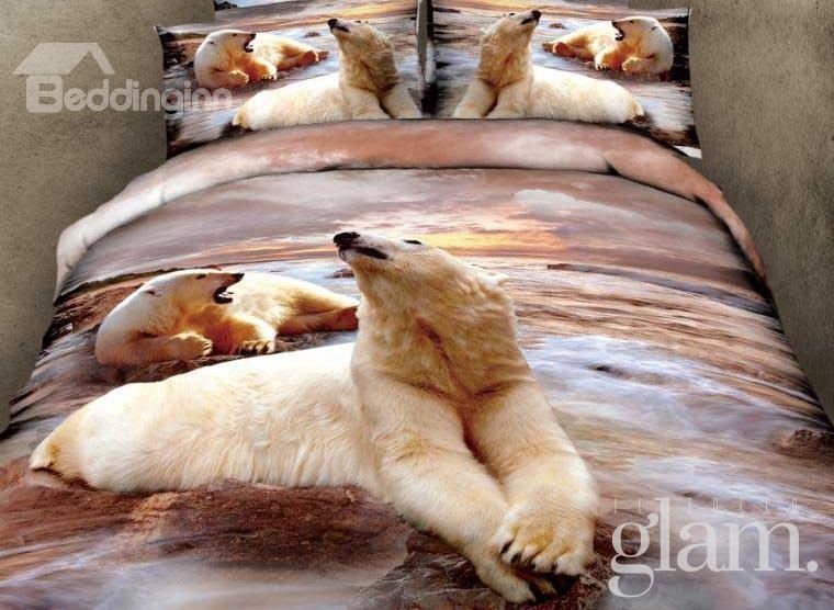 copriletto orso