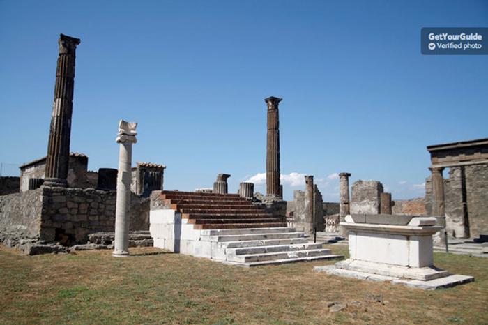 da roma rovine pompei