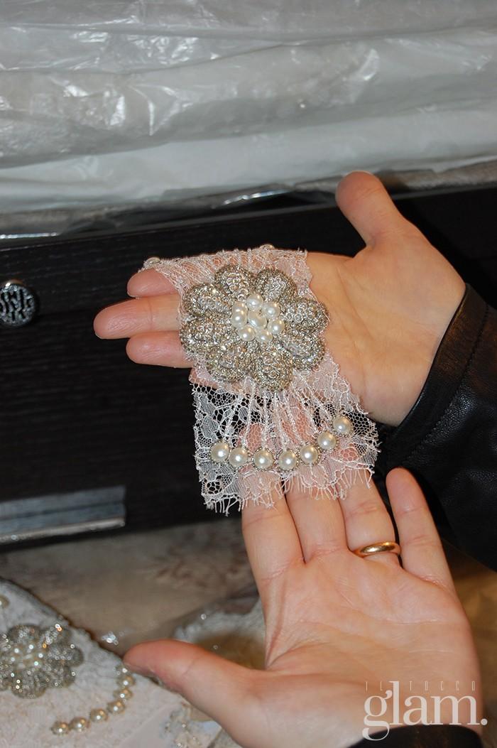 dettagli abiti da sposa