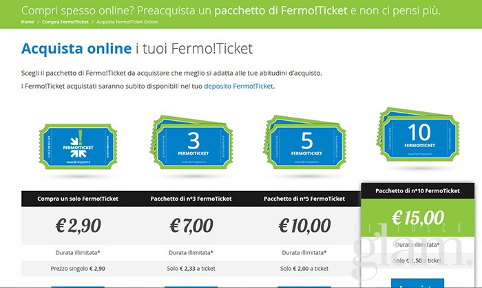 fermo point ticket