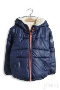 giacca con pellicciotto bimbo esprit