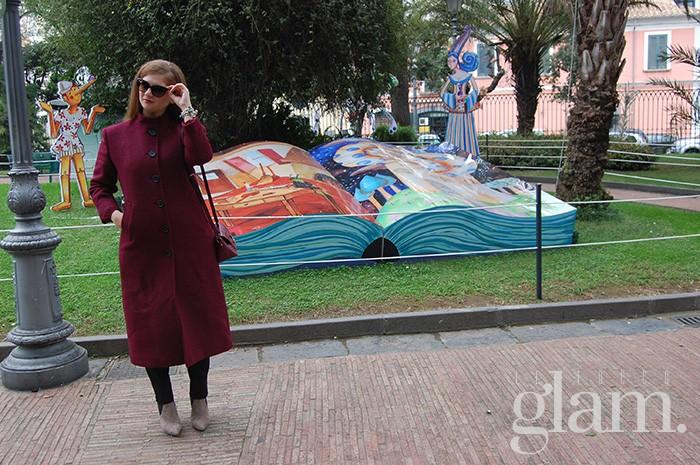 il tocco glam cappotto lungo
