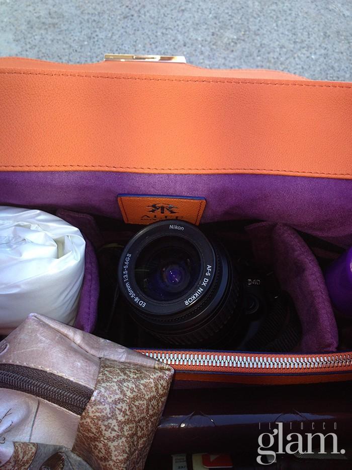 interno aleph | camera bag blu