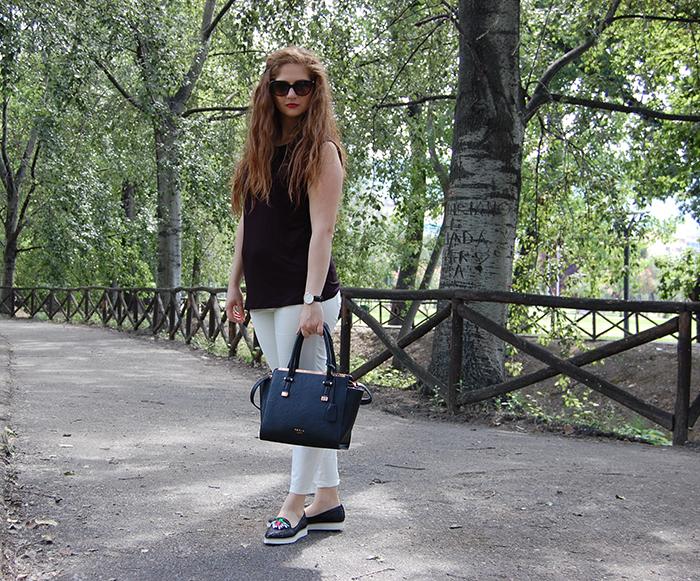 outfit con scarpe basse