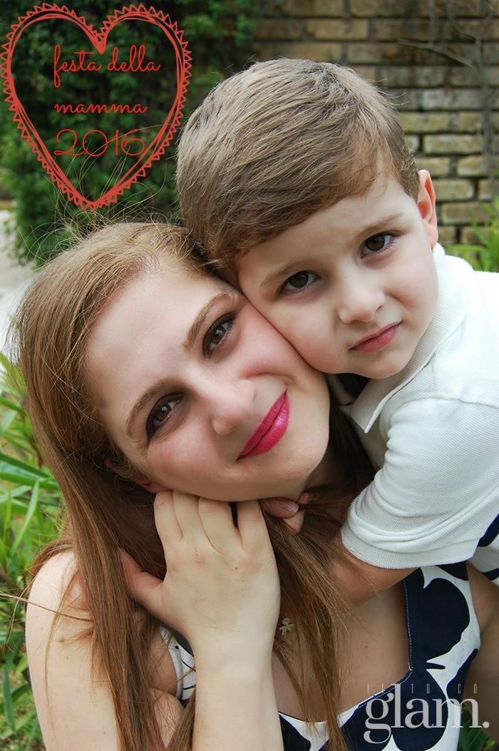 outfit mamma e figlio cuore