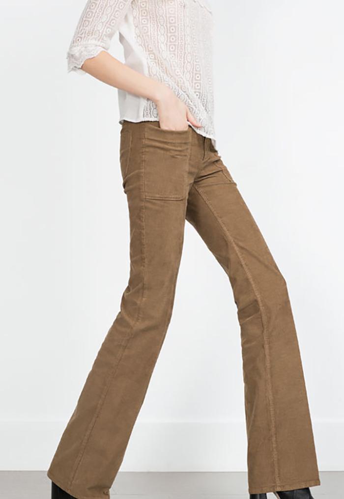 Trend d'autunno: i pantaloni a zampa Il Tocco Glam