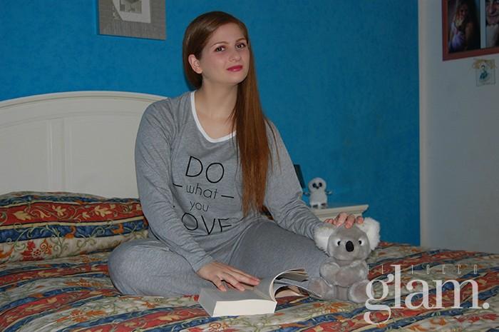 pigiama in grigio jadea