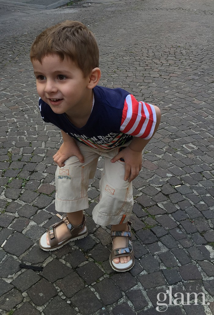 sandaletti bimbo garvalin