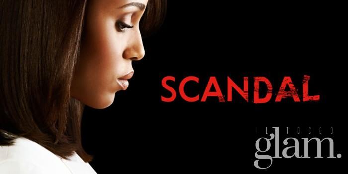 La serie tv Scandal che sto vedendo