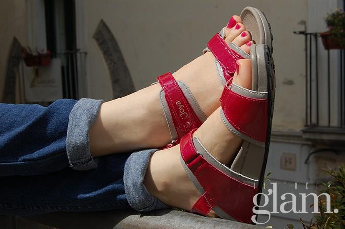 scarpe joya rosse