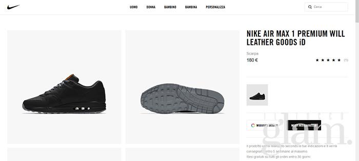 scarpe nike personalizzate