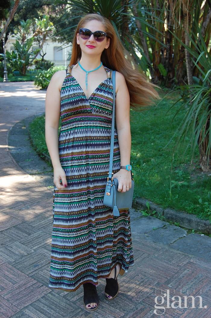 vestito lungo estivo